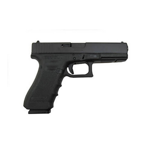 Glock Model 17 9mm Gen4, Standard, Fixed Sights, 17 Round
