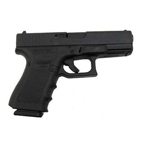 Pistol Glock Model 19 9mm Luger Gen4, Fixed Sights, 15 Round PG1950203