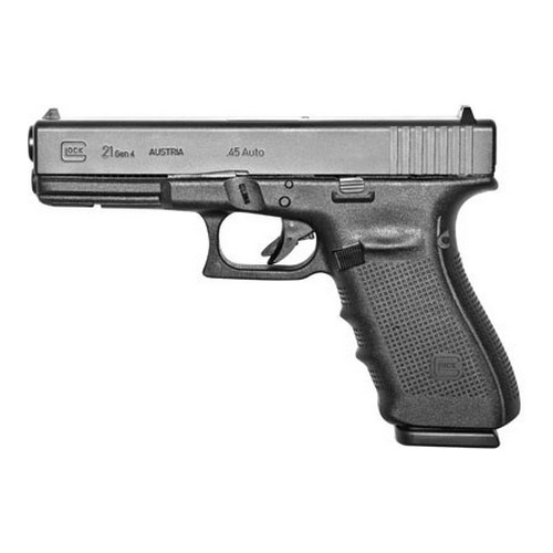 Glock Model 21 .45ACP Gen 4 Standard Fixed Sights 13 Round