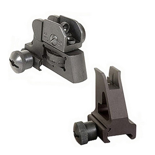 Global Military Gear Global Military Gear AR15 Front/Rear Sight Combo GM-FRS1
