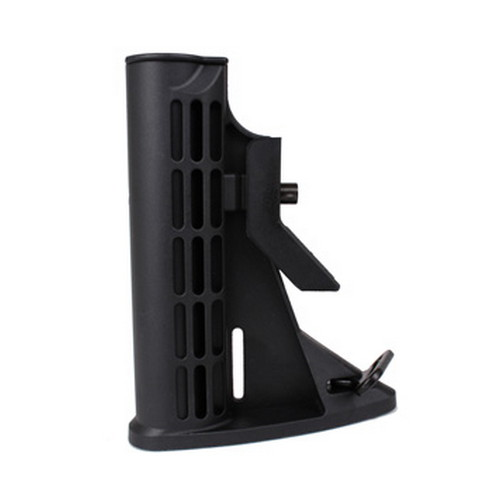 Global Military Gear Global Military Gear AR15 6 Position Poly Stock Only Black GM-6PPS-B