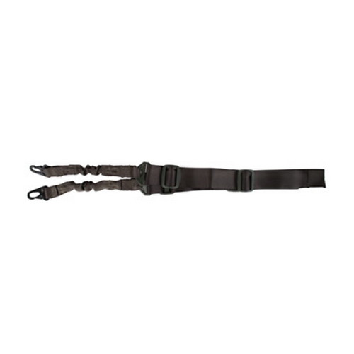 Global Military Gear Global Military Gear Bungee Rifle Sling 1 or 2 pt OD GM-BS1-OD
