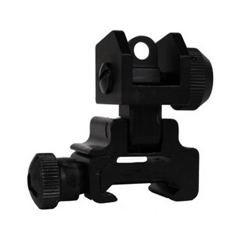Global Military Gear Global Military Gear AR15/M4 Rear Flip-up Sight GM-RFUS1