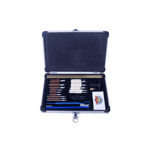 Gunmaster by DAC Gunmaster by DAC Universal Select 30 Piece .22 Caliber and Larger Cleaning Kit Aluminum Case UGC56C