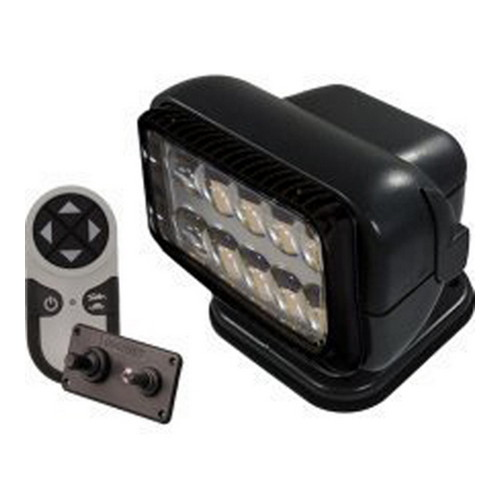 GoLight Permanent Mount Radioray LED Combination,Black