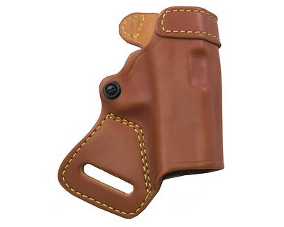Gould & Goodrich Gold Line Small of Back Holster Glock 27, Chestnut Brown 806-G27