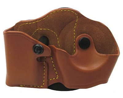 Gould & Goodrich Gold Line Mag/Cuff Case Paddle Combo Size 4, Chestnut Brown 821-4