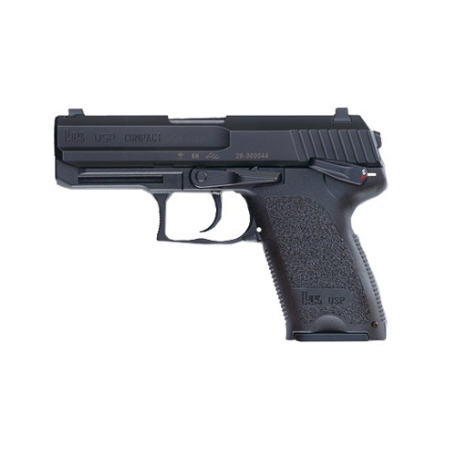 Heckler & Koch Pistol Heckler & Koch USP9 Compact V1 DA/SA with Safety/Decocker 9mm Luger Luger 10 Round 709031-A5