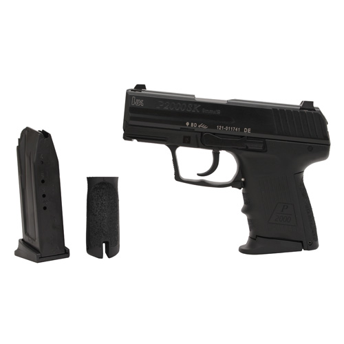 Heckler & Koch Pistol Heckler & Koch P2000SK 9x19 Double Action Only V2 with 2 10 Round Magazine 709302-A5