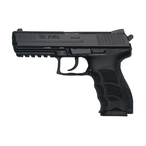 Heckler & Koch Heckler & Koch P30L LS V3 DA/SA Decock Button No Safety 9mm Luger Luger10 Round 730903L-A5