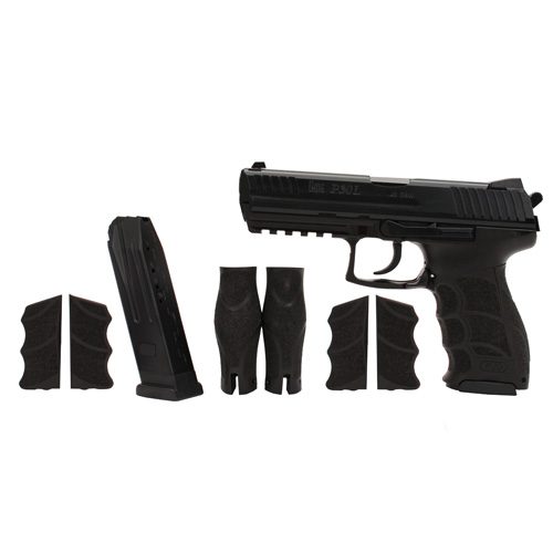 Pistol Heckler & Koch P30L V3 DA/SA Rear Decock No Safety 40 S&W 10 Round 734003L-A5