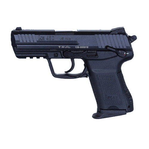 Heckler & Koch Pistol 45 ACP Heckler & Koch HK45 Compact Tactical V3 DA/SA with Decock Lever 10 Round 745033T-A5