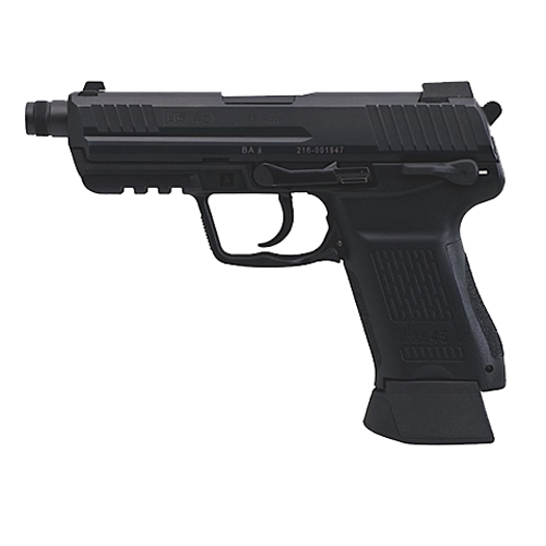 Pistol Heckler & Koch HK45 Compact Tactical V7 DAO LEM 45 ACP 10 Round 745037T-A5