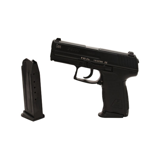 Heckler & Koch Pistol Heckler & Koch P2000 9mm Luger Luger Double Action Only V2 with 2 13 Round Magazines M709202-A5
