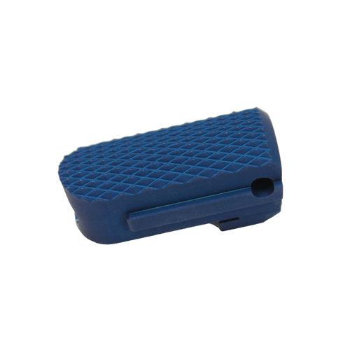 Hogue Hogue SIG P238/P938 Aluminum Mainspring Housing Checkered Matte Blue Anodized 01753