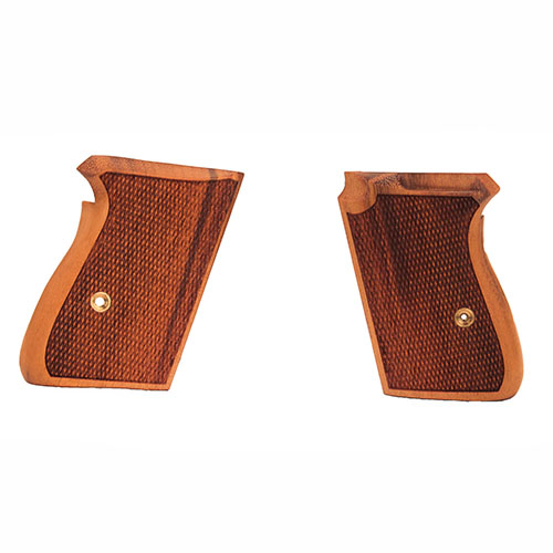 Hogue Hogue Walther PPK Grips Goncalo Alves, Checkered 02211
