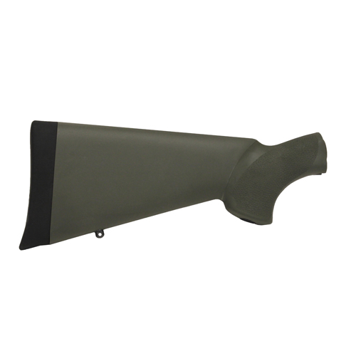 Hogue Hogue Mossberg 500 Overmolded Stock Olive Drab Green 05210