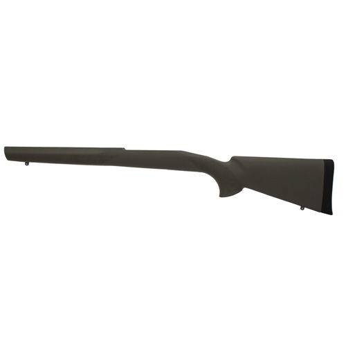 Hogue Hogue Winchester Model 70 Long Action Stock 1 Piece Trigger Sporter Barrel Pillarbed Olive Drab Green 07221
