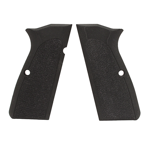 Hogue Hogue Browning Hi Power Grips Checkered G-10 Solid Black 09179