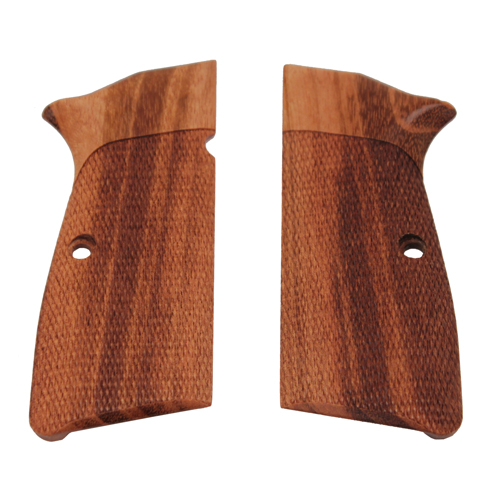 Hogue Hogue Browning Hi Power Grips Goncalo Alves, Checkered 09211