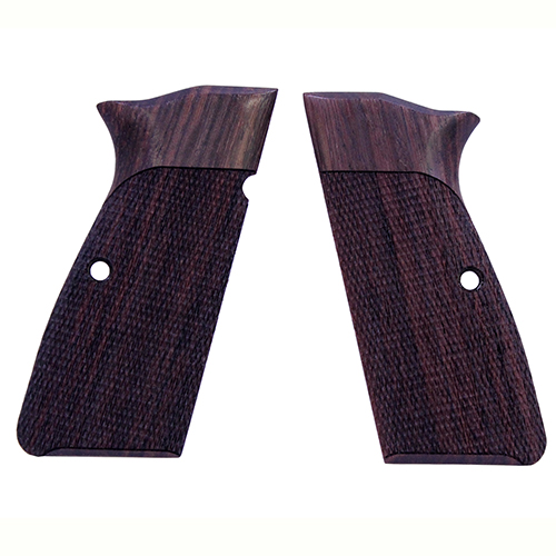 Hogue Hogue Browning Hi Power Grips Checkered Rosewood 09911