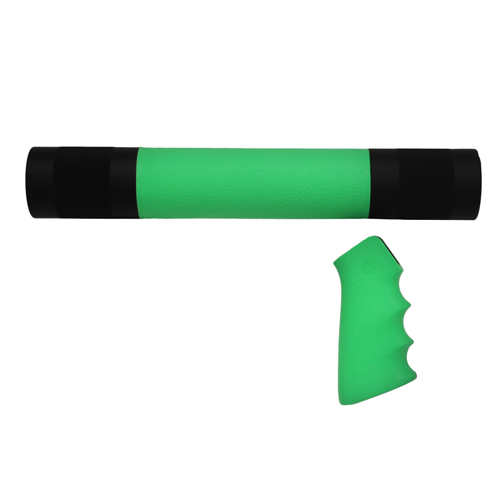 Hogue Hogue AR-15/M-16 Kit Overmolded Grip/Forend Zombie Green 15009