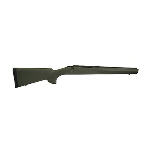 Hogue Hogue Rubber Overmolded Stock for Howa 1500/Weatherby Howa 1500/Weatherby Short Action, Standard Full Length Bed, BB, OD Green 15202