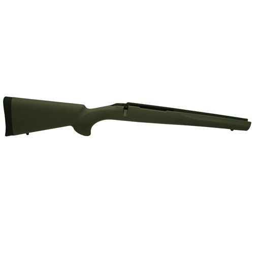 Hogue Hogue Rubber Overmolded Stock for Howa 1500/Weatherby Short Action, Heavvy Barrel, Pillar Bedding Olive Dr. Green 15210
