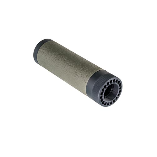 Hogue Hogue AR-15 Free Floating Overmolded Forend Rubber Grip Area, Carbine, Olive Drab Green 15214