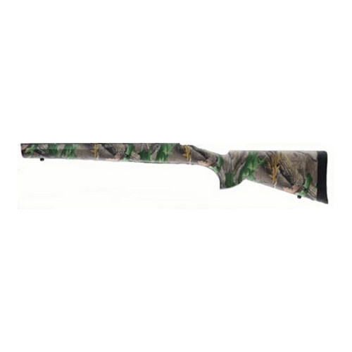 Hogue Hogue Howa 1500/Weatherby Long Action Stock Standard Barrel Pillarbed Hardwoods 15401