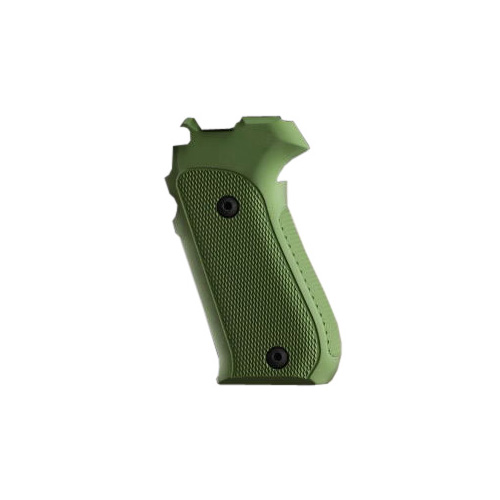 Hogue Sig P220 American Grips Checkered Aluminum Matte Green Anodized