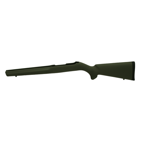 Hogue 10/22 Overmolded Stock Rubber, Magnum, Standard Barrel, Olive Drab Green