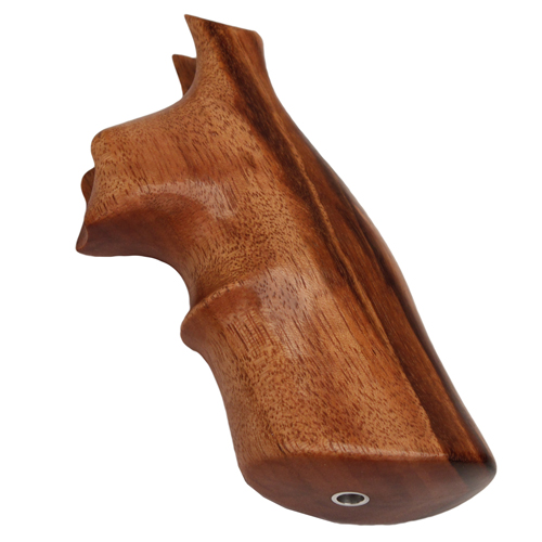 Hogue Hogue Wood Grip - Goncalo Alves S&W N Frame, Round Butt 25252