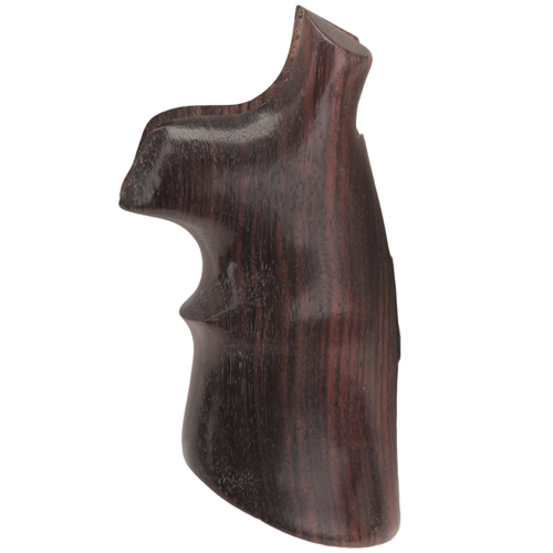 Hogue Hogue S&W N Frame Round Butt Grips Rosewood Convert w/Top Finger Grooves 25952