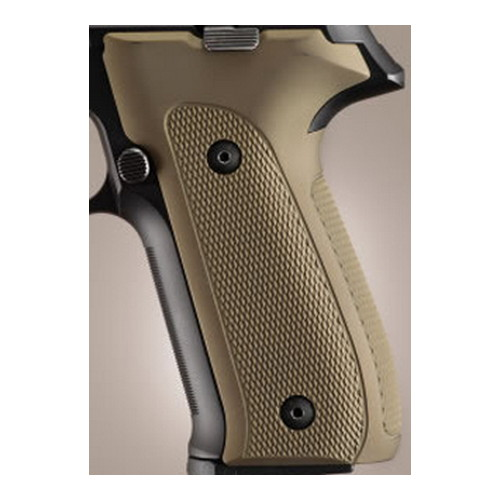 Hogue Hogue Sig P226 Grips DAK, Checkered Aluminum Matte Green Anodized 26151