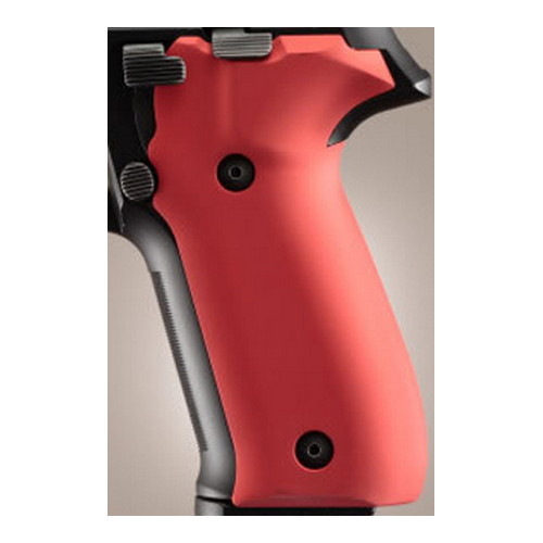 Hogue Sig P226 Grips Aluminum Matte Red Anodized