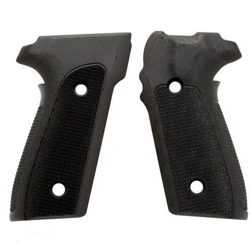 Hogue Hogue Sig P228/P229 Grips Checkered G-10 Solid Black 28179