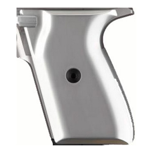 Hogue Hogue AR-15 Extreme Grips Checkered Aluminum Brushed Gloss Clear Anodized 15175