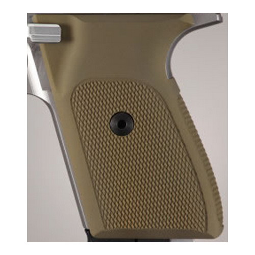 Hogue Hogue Sig P230/P232 Grips Checkered Aluminum Matte Green Anodized 30171