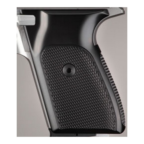 Hogue Hogue Sig P230/P232 Grips Checkered Aluminum Brushed Gloss Black Anodized 30176