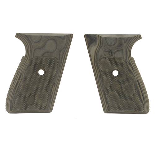 Hogue Hogue Sig P230/P232 Grips Checkered G-10 G-Mascus Green 30178