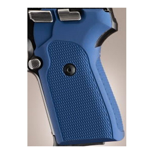 Hogue Sig P239 Grips Checkered Aluminum Matte Blue Anodized