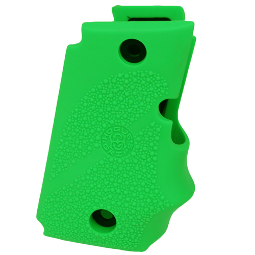 Hogue Hogue Sig P238 Grips Rubber w Finger Grooves, Zombie Green 38005