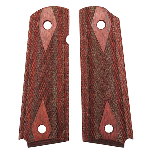 Hogue Hogue Colt & 1911 Government Grips Rosewood Laminate Checkered 45511