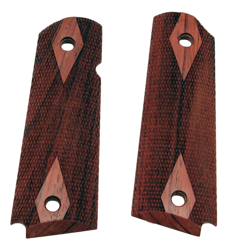 Hogue Hogue Colt & 1911 Government Grips Rosewood, Checkered 45911