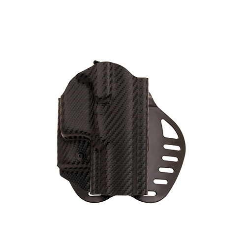 Hogue Hogue Powerspeed ARS Stage 1 CarbonFiber Weave Hoslter C7, Walther P99Q, HK USP, P10, Right Hand 52801
