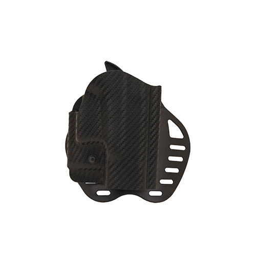 Hogue Hogue Powerspeed ARS Stage 1 CarbonFiber Weave Hoslter C3, Glock 26, 27, 28, 33, 39, Right Hand 52816