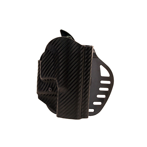 Hogue Hogue Powerspeed ARS Stage 1 CarbonFiber Weave Hoslter C2, Glock 18, 18, 23, 25, 32, 38, Right Hand 52819
