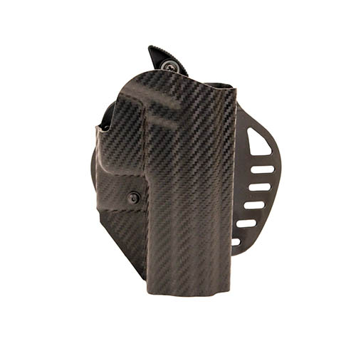 Hogue Hogue Powerspeed ARS Stage 1 CarbonFiber Weave Hoslter C5, Sig P226, Right Hand 52826
