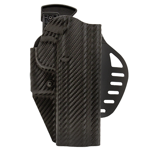 Hogue Hogue Powerspeed ARS Stage 1 CarbonFiber Weave Hoslter C8, Government 1911, Right Hand 52845